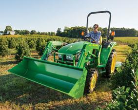 John Deere 3D Compact Utility Tractors