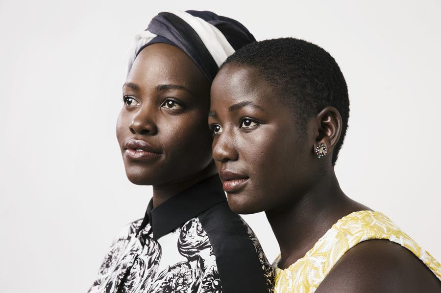 Lupita Nyong'o and Madina Nalwanga pose for a portrait during the Toronto International Film Festival, Sept. 12, 2016.