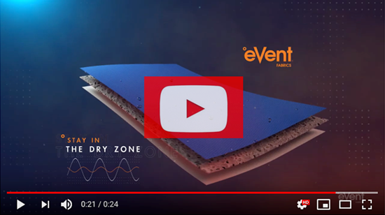 Striker eVent Waterproof Technology