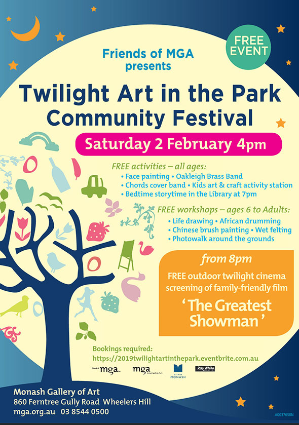 Twilight Art in the Park Community Festival